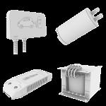 Aislamiento eléctrico para electronica, composicion pequeños