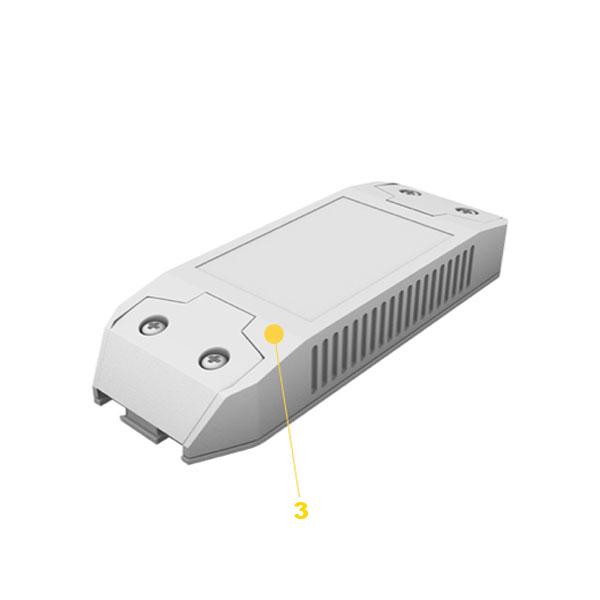 AISLANTES ELÉCTRICOS PARA DRIVER LED
